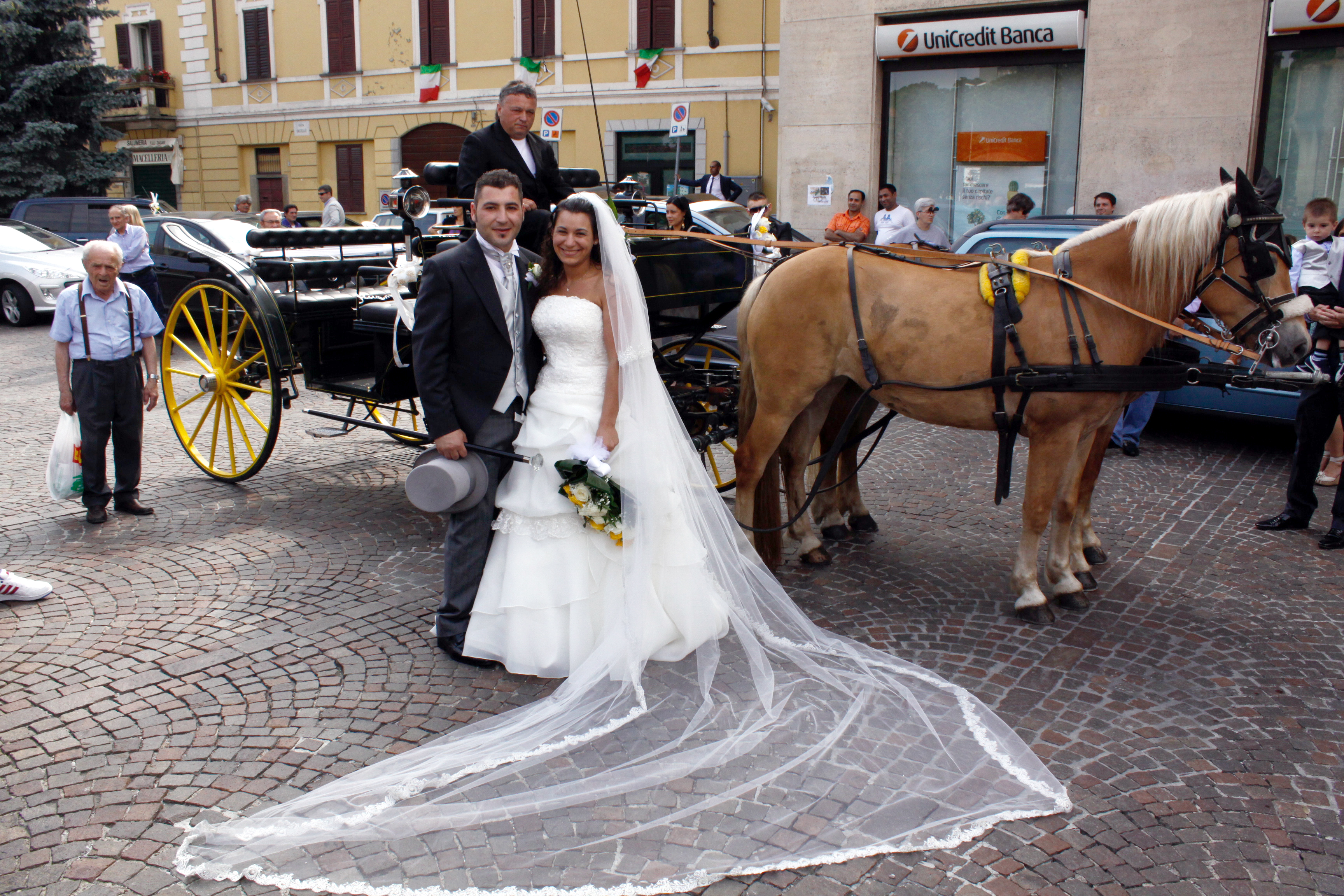 carrozza per matrimoni